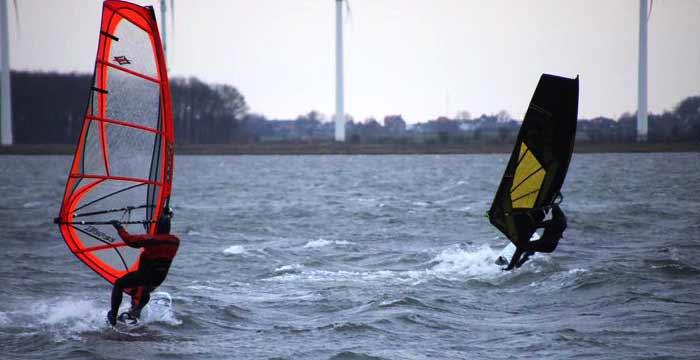Die Windsurf-Privatstunde