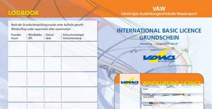 Die VDWS-Windsurf-Prüfung & -Lizenz