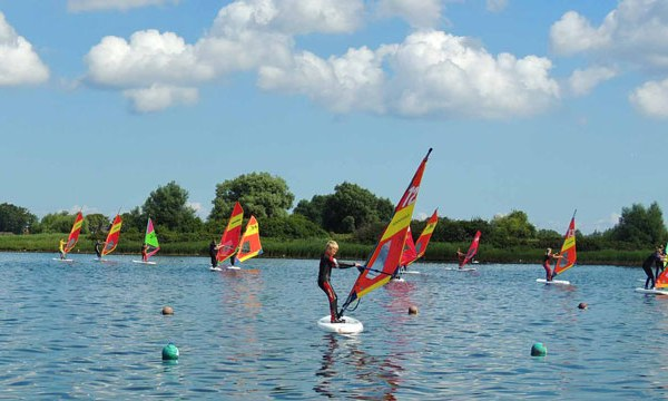 Der Kinder-Windsurf-Kurs
