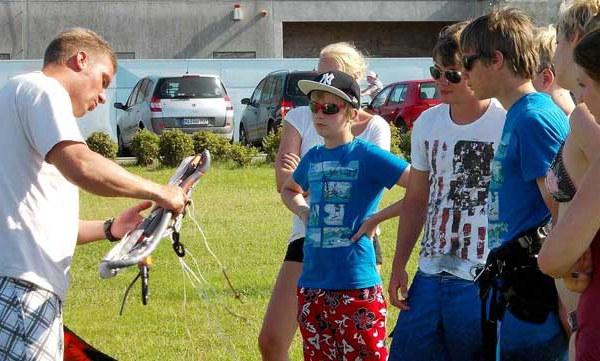 Das Kitesurf-Sicherheitstraining