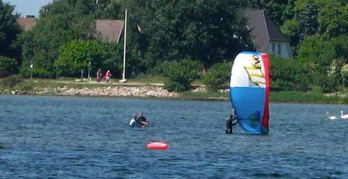 Der Kitesurf-Grundkurs