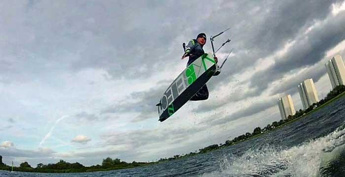 Die VDWS-Kitesurf-Prüfung & -Lizenz